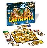 Ravensburger 3D-Labyrinth – bewegliches Labyrinth Familien-Brettspiel für Kinder und Erwachsene...