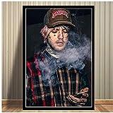 A&D Hot Lil Peep RIP Rapper Musik Sänger Star Poster Und