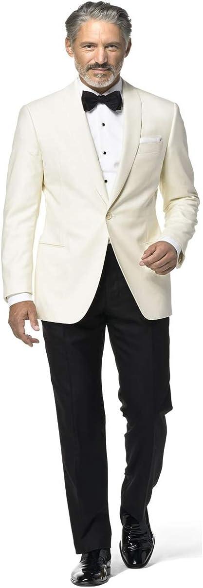 Slim Fit Ivory Dinner Jacket