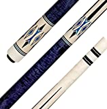 Pechauer JP17-Q Pool cue with Adjustable Weight and Free Soft case
