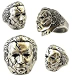 Universe of Fandoms TV Movies Show Original Design Quality Anime Cartoon Cosplay Horror Halloween Michael Myers Mike Meyers Ring Gifts for Men Woman (US Size 13)