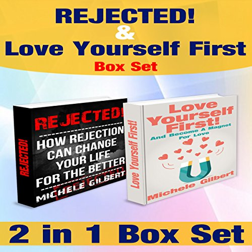 The Love Yourself More and Rejected Romance Box Set audiobook cover art
