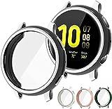 Wiki VALLEY 4er Pack Schutzhülle für Samsung Galaxy Watch Active 2 40mm , Altra-Thin TPU Allro&-Abdeckfolie, Kratzfeste Bildschirmschutzfolie Kompatibel mit Galaxy Active 2