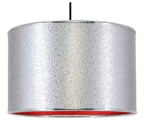 C. Création Hängeleuchte Wassertropfen-Design Modern Rot (außen)