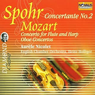 Spohr: Concertante No.2, Mozart: Concerto for Flute and Harp, Oboe Concertos