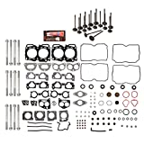 Evergreen HSHBIEV9012 Head Gasket Set Head Bolts Intake Exhaust Valves Compatible With 04-09 Subaru Impreza Legacy Forester Outback 2.5 EJ25 SOHC