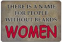 女性たち メタルポスタレトロなポスタ安全標識壁パネル ティンサイン注意看板壁掛けプレート警告サイン絵図ショップ食料品ショッピングモールパーキングバークラブカフェレストラントイレ公共の場ギフト