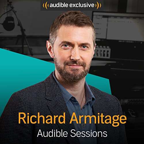 Richard Armitage audiobook cover art