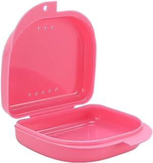 Hemoton 1Pc Kunstgebit Case Kunstgebit Cleaning Case Retainer Case Met Vent Gaten Orale Case Met Lucht Gat Retainer Case B...