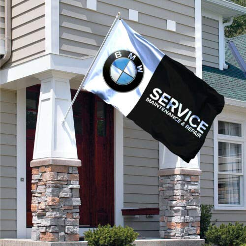 BMW Flag Banner 3x5ft E46 Car Racing Service Garage M3 X5 328I Series E36 325I