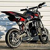 Starmax 40cc Gas Powered Mini Dirt Bike (Red/Black)
