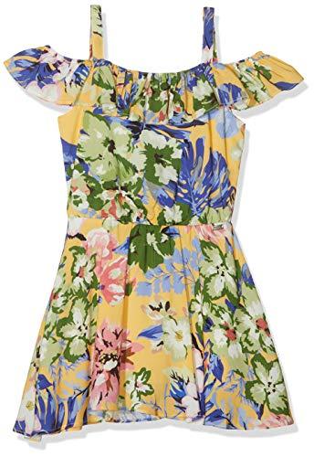Mexx Mädchen Kleid, Mehrfarbig (Multicolor 300007), (Herstellergröße: 128)