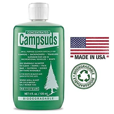 Sierra Dawn Campsuds All Purpose Cleaner, 4-Ounce, Green (2)