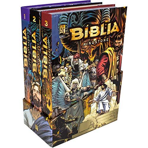 Bíblia Kingstone - 3 Volumes em Quadrinhos: Tradução Novos Leitores (TNL)