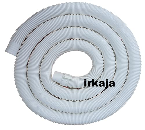 Irkaja 3 Meter Fully & Semi Automatic Washing Machine Flexible Waste Water Outlet Drain Hose Pipe/Extension Pipe (3m)