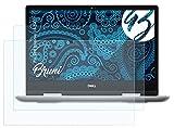 Bruni Schutzfolie kompatibel mit Dell Inspiron 14 5000 Folie, glasklare Bildschirmschutzfolie (2X)