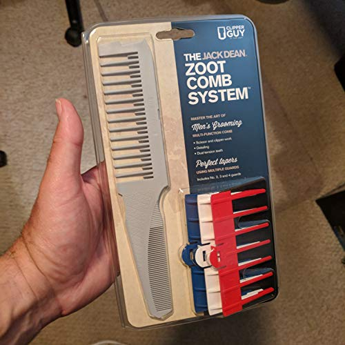 Clipperguy Zoot Comb hair cutting system w guards