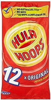 KP Hula Hoops Original 12 x 24g Bags - British