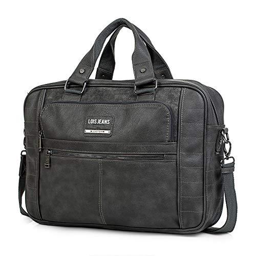 Lois 15', Portadocumentos Tiempo libre y sportwear Unisex Adulto, Gris Oscuro (96540), L