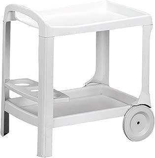 Aretha AR011 Trolley rotolamento Amalfi Bianco 74 x 90 x 56 cm
