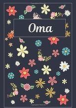 Oma: Taccuino | Diario | Sketchbook | 120 pagine | A4 | Bianco | Idee regalo