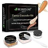 Tattoo Concealer, Makeup Concealer, Scar Concealer, Pro Concealer, Professional Waterproof Concealer Set, Cover Tattoo/ Scar/ Birthmark/ Vitiligo/ Bruise/ Acne, Tattoo Cover up Makeup/Body Concealer