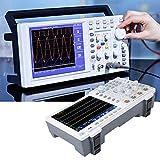 Osciloscopio Digital - OWON XDS3064E 60MHz 8 bits Pantalla táctil Osciloscopio Digital de bajo Ruido 4 Canales 110-240V(UE)