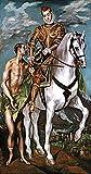 Kunstdruck/Poster: EL Greco Der heilige Martin und der