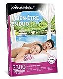 Wonderbox - Coffret cadeau duo - BIEN-ETRE EN DUO – 2300 massages, sauna, shiatsu, spa, hammam