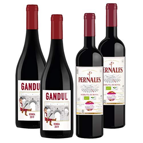 Taste of Ronda - Pack 4 botellas de 75cl - Vino tinto D.O.
