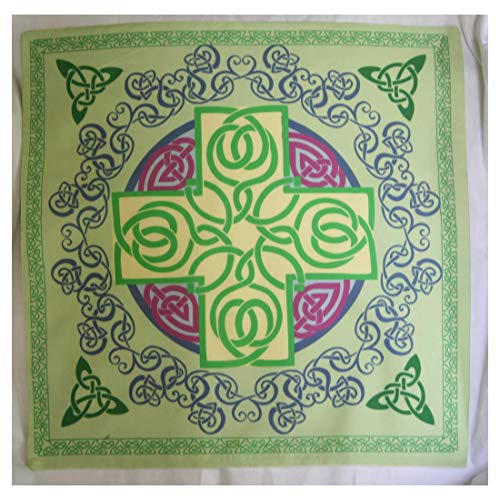 Altar Cloth or Tarot Cloth - Celtic Cross, Re-imaged