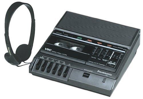 Panasonic RR-830 Desktop Cassette Transcriber / Recorder (Renewed)