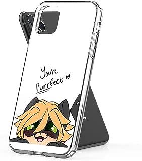 joyganzan You're Purrfect Chat Noir Case Cover Compatible for iPhone iPhone (11 Pro)
