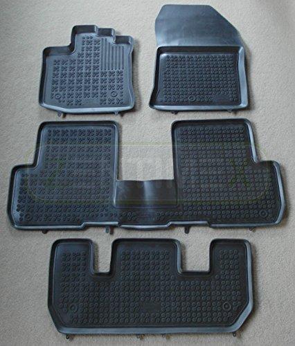 ZentimeX 4050319958291 Gummi-Fussmatten Schwarz
