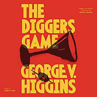The Digger's Game audiobook cover art