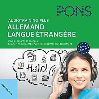 Couverture de Audiotraining Plus - Allemand langue étrangère