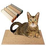 CIOGO World Natural Sisal Cat Scratching Mat Practical Diversity 100% Natural Sisal 20'x20' Cat/Kitty Grinding Claws & Protecting Furnitures