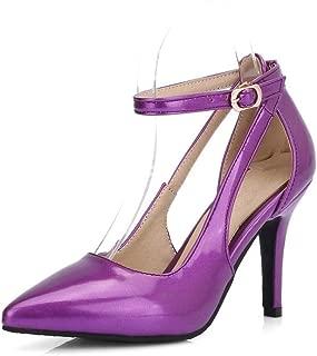 BalaMasa Womens ASL06077 Pu Heeled Sandals