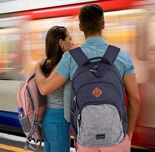 """51G2gKA382L - Travelite """"Basics mochilas para viajes urbanos y excursiones de ciclismo y senderismo — modernas, funcionales, seguras"""