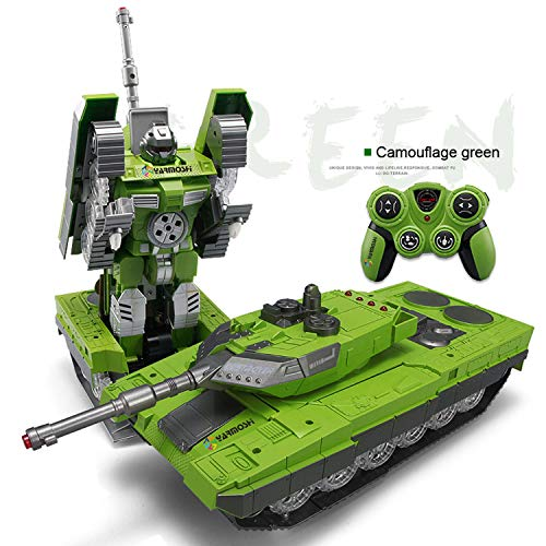 YARMOSHI Mando A Distancia Tanque Robot De Juguete. Lanza