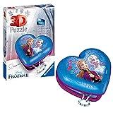 Herzschatulle - Frozen 2. 3D Puzzle 54 Teile