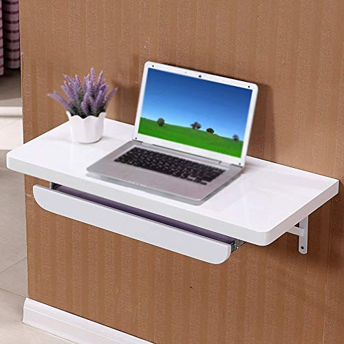 Tipo de Pared de Madera Mesa de Hojas Caducas, Mesa de Cocina Plegable, Computadora de Mesa para Ni�