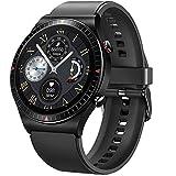GaWear Relojes Inteligente Hombre,Smartwatch con Llamadas Pulsómetro Presión Arterial, Monito de Sueño,Podómetro Pulsera Reloj Impermeable para Android iOS y Xiaomi Huawei iPhone( Negro)