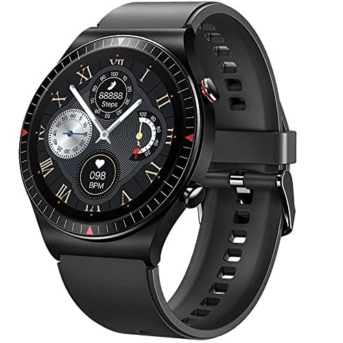 GaWear Relojes Inteligente Hombre,Smartwatch con Llamadas Pulsómetro Presión Arterial, Monito de Sueño,Podómetro Pulsera...