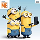 Despicable Me 2020 12 x 12 Inch Monthly Square Wall Calendar by Cal Ink, Movie Humor Animated Minions