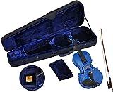 Steinbach 1/8 Geige im SET, blau handgearbeitet