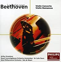 Beethoven: Violin Concerto/Violin Romances by Arthur Grumiaux (2005-08-18)