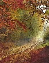 Notebook: autumn forest walk outdoor nature color season seasons