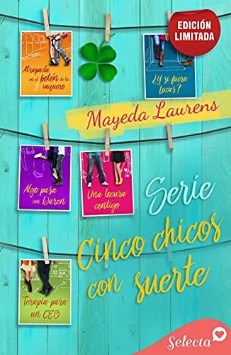 Pack Cinco chicos con suerte de Mayeda Laurens