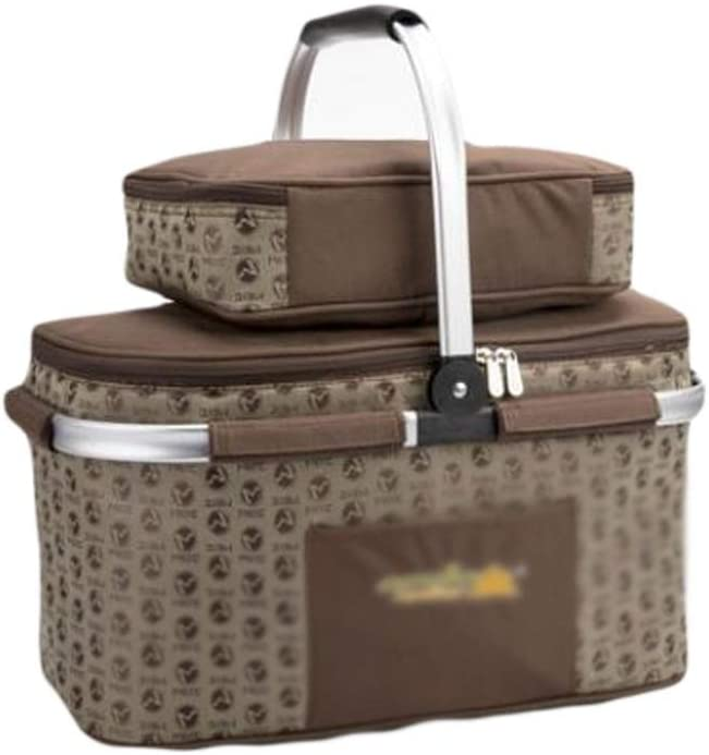 PIAOLING Outdoor Ranking TOP15 Large NEW before selling ☆ Capacity Basket Bas Picnic